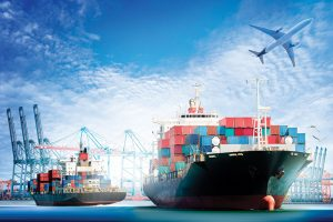 Export Documentation Workshop image 300x200 Container Cargo ship and Cargo plane with working crane