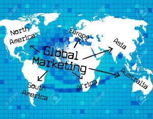 31943522 global marketing meaning worldly planet and globalization 300x234 Global Marketing Represents Earth Promotion And Globe
